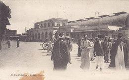 ALEXANDRIA /  Railway Station _ Viaggiata - Alexandria