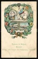 Postcard / ROYALTY / Belgique / Royaume De Belgique / Roi Leopold I / Koning Leopold II / Used / 1905 - Patriottisch