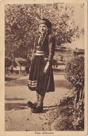 ALBANIA  /  Tipo Albanese _ Viaggiata - Albanie