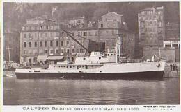 Océanographe        868        Calypso Recherches Sous Marines - Cargos