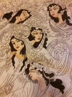 Persia - Iran - Tappeto Persiano Tabriz 60 Raj  Figurato - Lana Kurk,  Extra Fine , Raro Esemplare - Tappeti & Tappezzeria