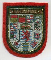 Stoffen Schild - Blazoen - écusson Tissu Gr.D. De Luxembourg - Ecussons Tissu