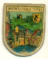Stoffen Schild - Blazoen - écusson Tissu Monschau / Eifel - Stoffabzeichen