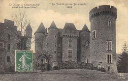 CPA 43 LE CHATEAU DE CHABREUGE ASPECT NORD PRES BRIOUDE - Brioude