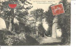76 - MESNIL VAL - Route Conduisant à La Plage - Mesnil-Val