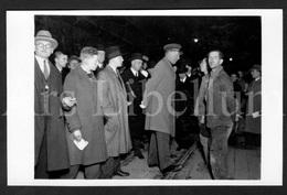Postcard / ROYALTY / Belgique / Roi Albert I / Koning Albert I / Unused / Mijnwerkers / Mineurs - Catastrophes