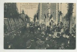 SAINT CLOUDE - Cérèmonie Commèmorative De Ls Bataille De Montretout 19 Jan 1871 ( 2 Scans ) - Guerre 1914-18