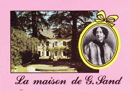 36 NOHANT -  PORTRAIT ET MAISON DE G.  SAND - Francia