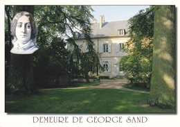 36 NOHANT -  PORTRAIT ET DEMEURE DE G.  SAND - Francia