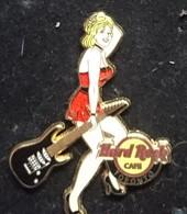 Pin Up Hard Rock Café Toronto. Serie : Rock All Night Series Girl. - Pin-ups