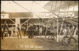 Postcard / ROYALTY / Belgique / Roi Albert I / Koning Albert I / Stockel / Nicolas Kinet / 1910 / Unused - Airmen, Fliers