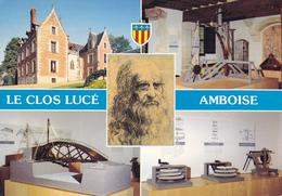 37 AMBOISE / LE CLOS LUCE / MULTIVUES / PORTRAIT LEONARD DE VINCI - Amboise