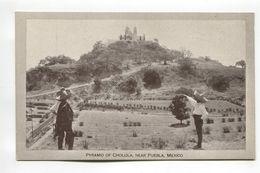 Pyramid Of Cholula Near Puebla Mexico - Mexico
