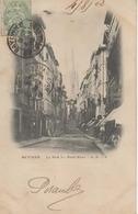 BAYONNE - La Rue Du Port-Neuf - AB 3 -  Précurseur écrite En 1902 - Animée - Tbe - Bayonne