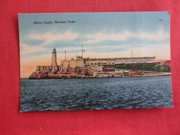 Cuba  Habana    Morro - Castle -Ref  2878 - Cuba
