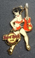 Pin Up Hard Rock Café Denver . Serie : Rock All Night Series Girl. - Pin-ups