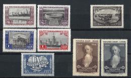 URSS306) 1957 - Lotto 4 Serie Cpl - 8val. MNH** - Nuovi