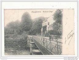 CHAUDFONTAINE ROUTE DE LIEGE CPA BON ETAT - Chaudfontaine