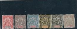Inde - Yvert Série 14 à 19 * Neufs Avec Charnière - Inde (1892-1954)