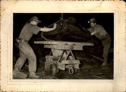 53 - RENAZE - Photo Carrières - Mines - Ardoisières - Mineurs - Photo De 1952 - Professions
