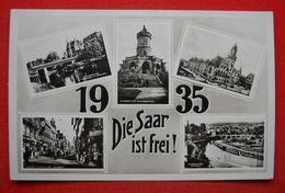 """""""Die Saar Ist Frei ! 1935"""",Echtphoto-Propagandakarte, Ungebraucht - Deutschland"""