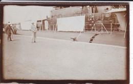 MINI-PHOTO----RARE--SOUS-MARIN ITALIEN  ( Février 1934 )---voir 2 Scans - Photographie