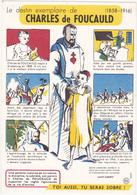 Buvard N° 10 / Comité Sur L'Alcoolisme / Le Destin Exemplaire De CHARLES De FOUCAULD - Buvards, Protège-cahiers Illustrés