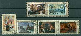 URSS 1975 - Y & T N. 4167/72 - Tableaux De Peintres Soviétiques - Oblitérés
