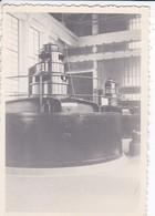 MINI-PHOTO----RARE--ALGERIE--turbine De Beni-bahdel  ( 1950 Barrage  )---voir 2 Scans - Photographie