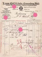 CRONENBERG 1928 J. Vom Cleff A. Sohn - 1900 – 1949