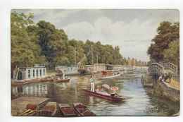 College Barges Folleybridge Oxford - Oxford