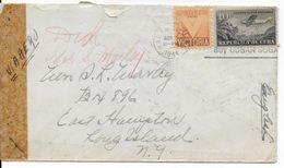 1944 - ENVELOPPE Avec CENSURE De HABANA => NEW YORK (USA) - Cuba