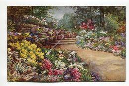 Aubrietias And Alyssum Rock Gardens Kew Gardens - London
