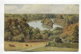 The Thames From Richmond Hill - London