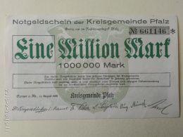 Kreisgemeinde Pfalz 1 Milione Mark 1923 - [11] Emissioni Locali