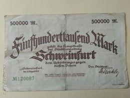 Schmeinfurt 500000 Mark 1923 - [11] Emissioni Locali