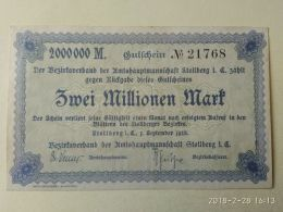 Stollberg 2 Milioni Mark 1923 - [11] Emissioni Locali