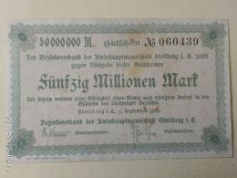 Stollberg 50 Milioni Mark 1923 - [11] Emissioni Locali