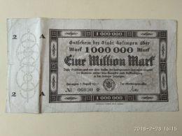 Solingen 1 Milione Mark 1923 - [11] Emissioni Locali