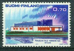 BM Finnland 1973 | MiNr 725 | MNH | Norden, Haus Des Nordens, Reykjavik - Finnland