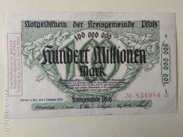Kreisgemeinde 100 Milioni Mark 1923 - [11] Emissioni Locali