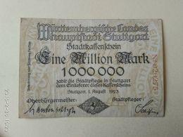 Stuttgard 1 Milioni Mark 1923 - [11] Emissioni Locali