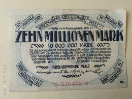 Speyer 10 Milioni Mark 1923 - [11] Emissioni Locali