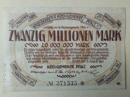 Speyer 20 Milioni Mark 1923 - [11] Emissioni Locali