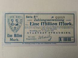 Straubing 1 Milione Mark 1923 - [11] Emissioni Locali