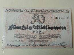 Speyer 50 Milioni Mark 1923 - [11] Emissioni Locali