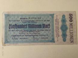 Stollberg 500 Milioni Mark 1923 - [11] Emissioni Locali