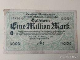 Karloruhe 1 Milioni Marc 1923 - [11] Emissioni Locali