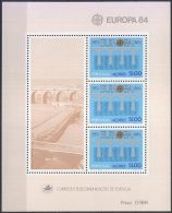AZOREN 1984 Mi-Nr. Block 5 ** MNH - CEPT - Europa-CEPT