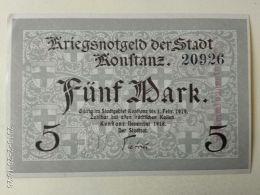 Konftanz 5 Mark 1919 - [11] Emissioni Locali